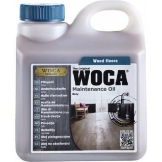 Onderhoudsolie grijs Woca