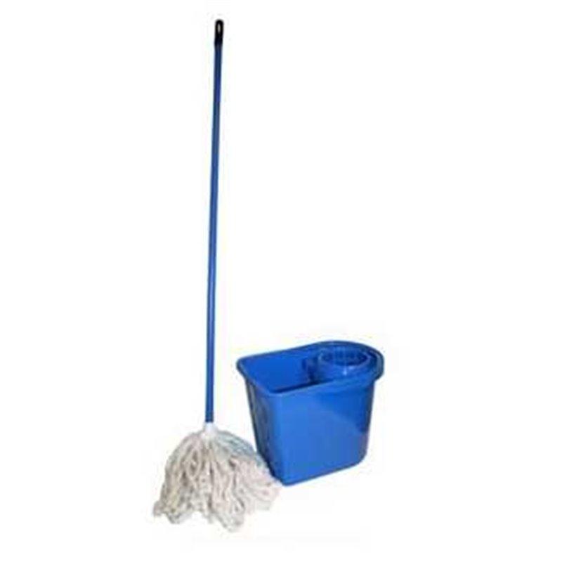 Zwabber mop met emmer