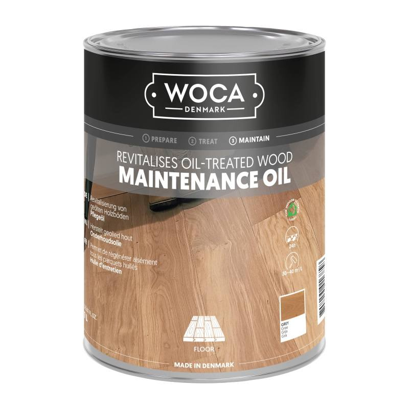Woca Onderhoudsolie Grijs 1 Liter nvt